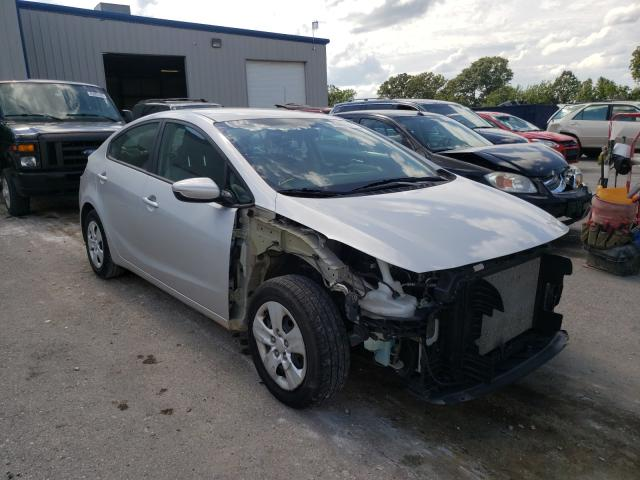 Salvage cars for sale from Copart Rogersville, MO: 2017 KIA Forte LX