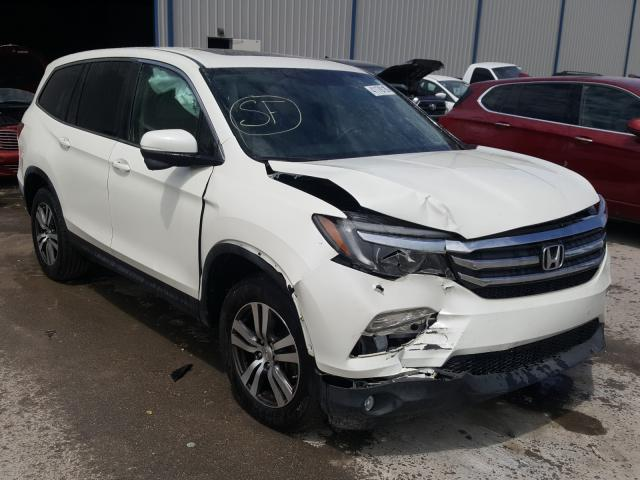 Salvage cars for sale from Copart Apopka, FL: 2017 Honda Pilot EXL