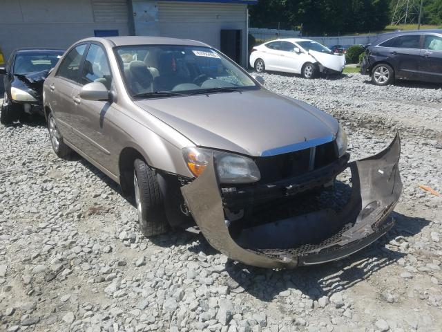 KIA salvage cars for sale: 2009 KIA Spectra EX