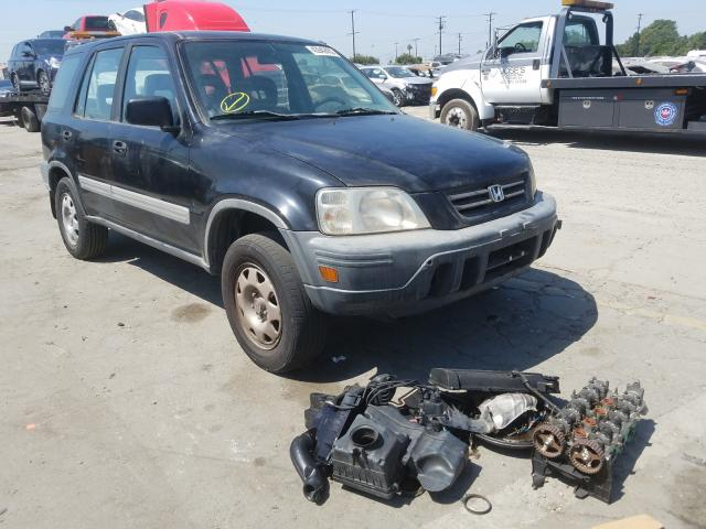 Honda CR-V LX salvage cars for sale: 2001 Honda CR-V LX