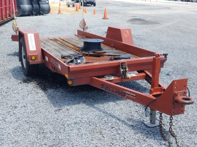 Felg Trailer salvage cars for sale: 2016 Felg Trailer