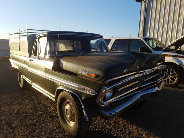 Ford F100 salvage cars for sale: 1979 Ford F100