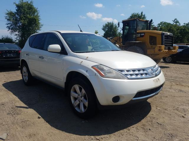 Salvage cars for sale from Copart Baltimore, MD: 2006 Nissan Murano