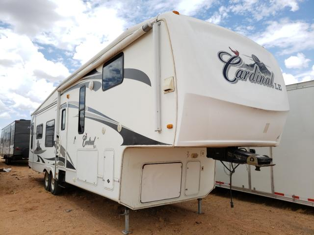 Cardinal salvage cars for sale: 2009 Cardinal Trailer