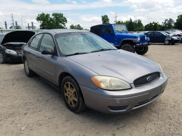 Salvage cars for sale from Copart Lansing, MI: 2007 Ford Taurus SE