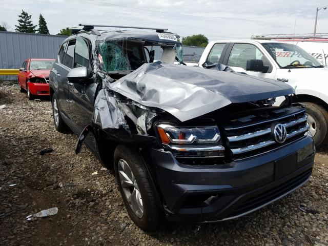 Salvage cars for sale from Copart Cudahy, WI: 2020 Volkswagen Atlas SE