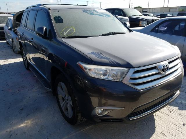 Salvage cars for sale from Copart Haslet, TX: 2013 Toyota Highlander