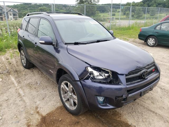 Toyota Rav4 Sport salvage cars for sale: 2009 Toyota Rav4 Sport