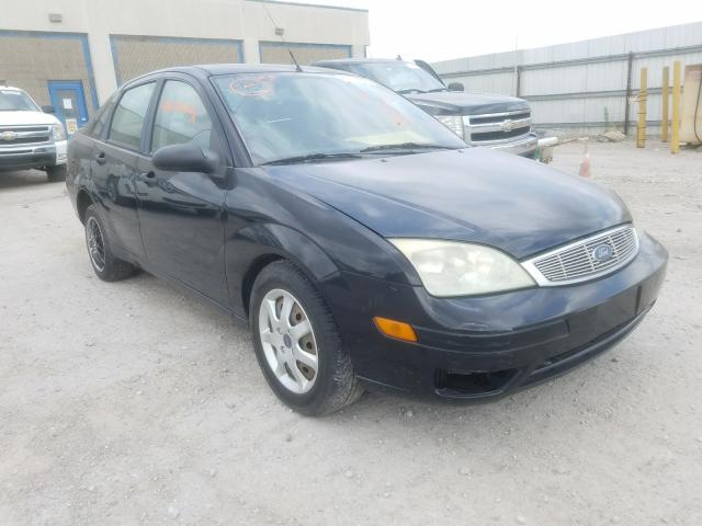 Ford Focus ZX4 salvage cars for sale: 2005 Ford Focus ZX4
