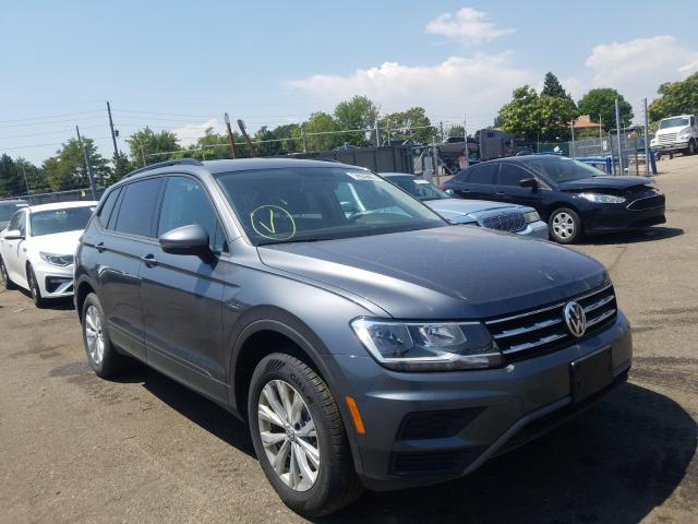 Salvage cars for sale from Copart Denver, CO: 2020 Volkswagen Tiguan S