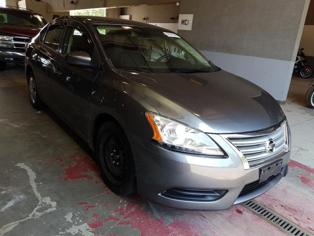 Salvage cars for sale from Copart Sandston, VA: 2015 Nissan Sentra S