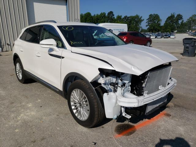 Salvage cars for sale from Copart Dunn, NC: 2019 Lincoln Nautilus