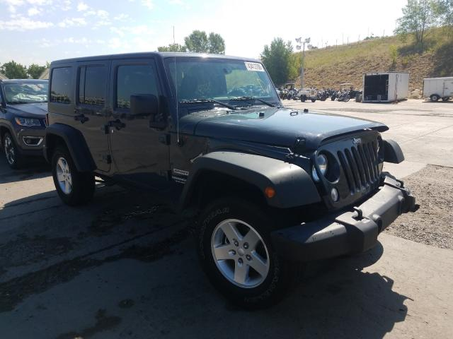 Jeep Wrangler U salvage cars for sale: 2017 Jeep Wrangler U