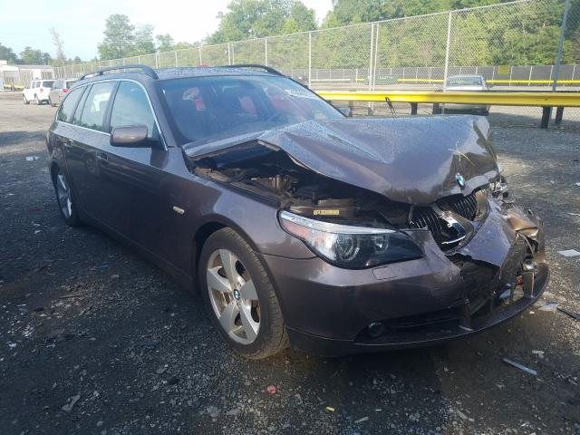 BMW 530 XIT salvage cars for sale: 2006 BMW 530 XIT