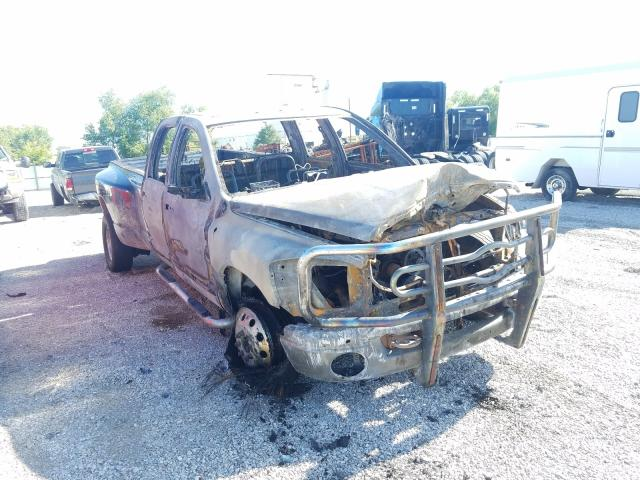 Dodge RAM 3500 salvage cars for sale: 2009 Dodge RAM 3500
