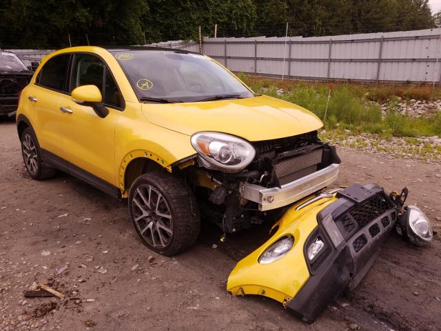 Fiat salvage cars for sale: 2017 Fiat 500X Trekk