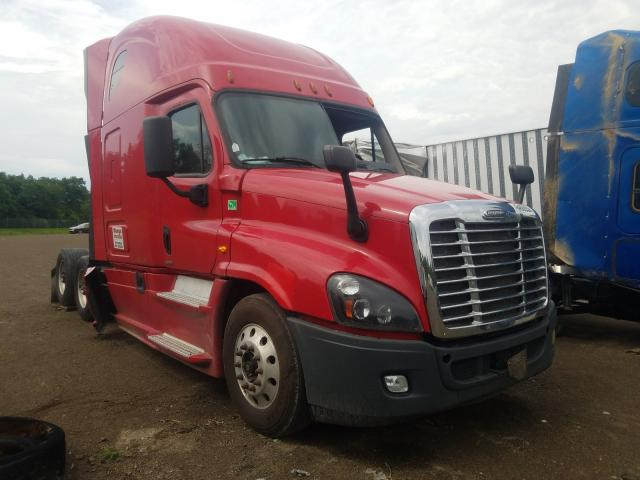 Salvage cars for sale from Copart Chambersburg, PA: 2015 Freightliner Cascadia 1