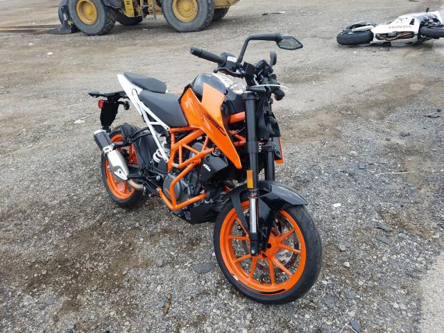 KTM salvage cars for sale: 2019 KTM 390 Duke