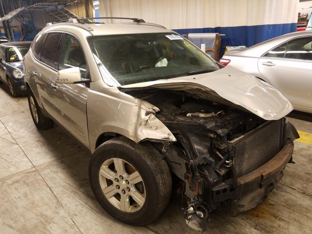 Salvage cars for sale from Copart Wheeling, IL: 2011 Chevrolet Traverse L