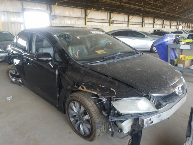 Honda Civic EXL salvage cars for sale: 2011 Honda Civic EXL