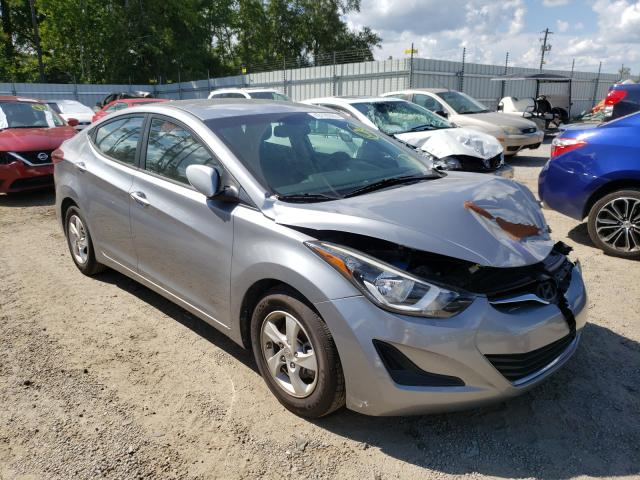 Salvage cars for sale from Copart Harleyville, SC: 2015 Hyundai Elantra SE
