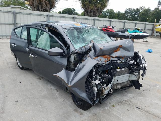 Salvage cars for sale from Copart Punta Gorda, FL: 2019 Nissan Versa S