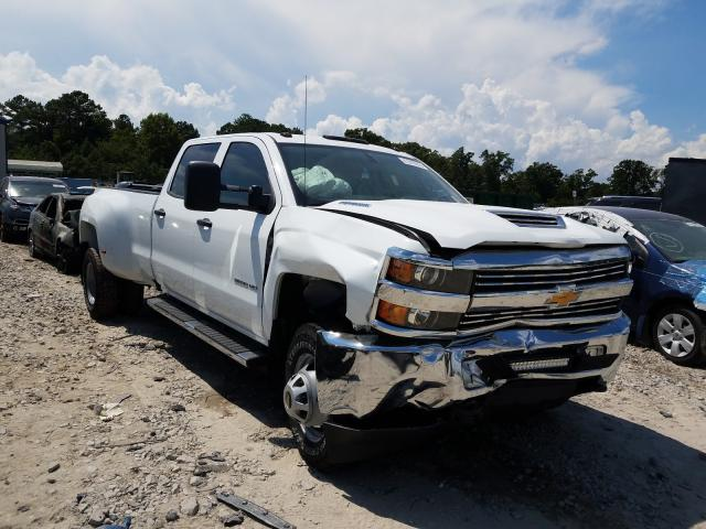 Salvage cars for sale from Copart Ellenwood, GA: 2017 Chevrolet Silverado