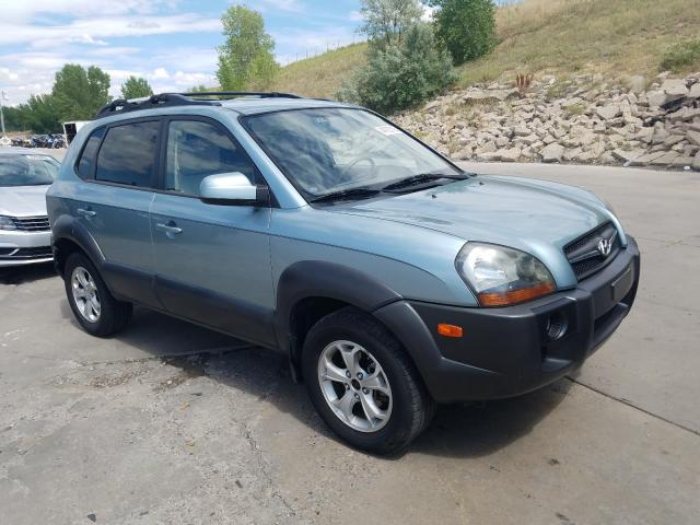 Hyundai Tucson SE salvage cars for sale: 2009 Hyundai Tucson SE