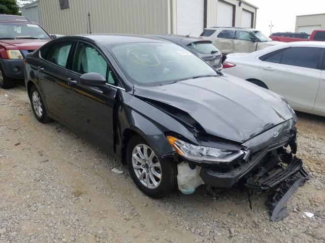Ford Fusion S salvage cars for sale: 2017 Ford Fusion S