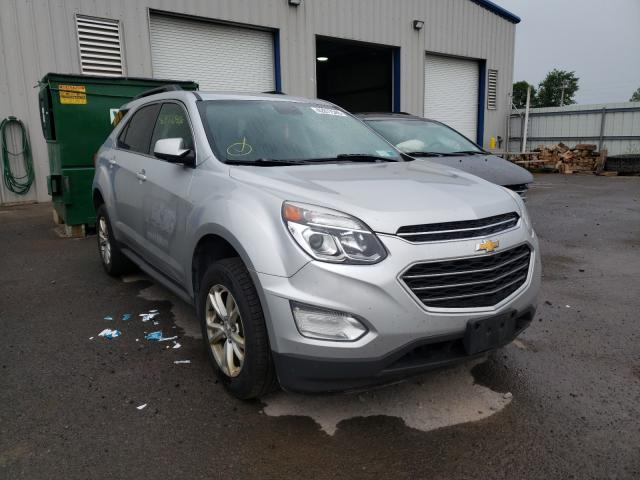 Salvage cars for sale from Copart Central Square, NY: 2017 Chevrolet Equinox LT