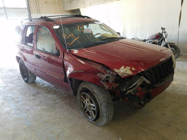 Salvage cars for sale from Copart Indianapolis, IN: 2002 Jeep Grand Cherokee