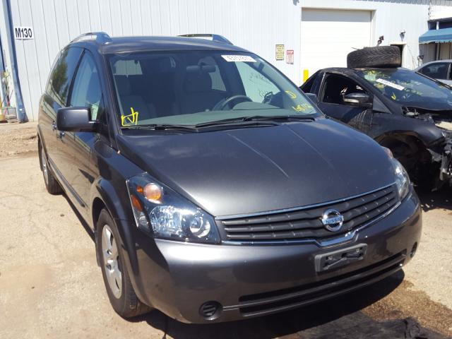 Nissan salvage cars for sale: 2008 Nissan Quest S