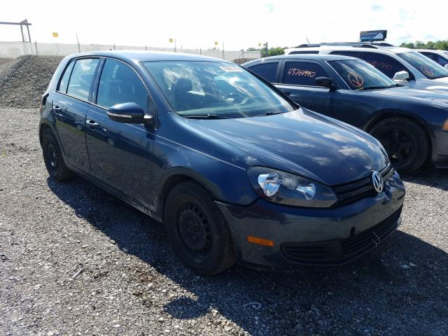 Volkswagen Golf salvage cars for sale: 2012 Volkswagen Golf