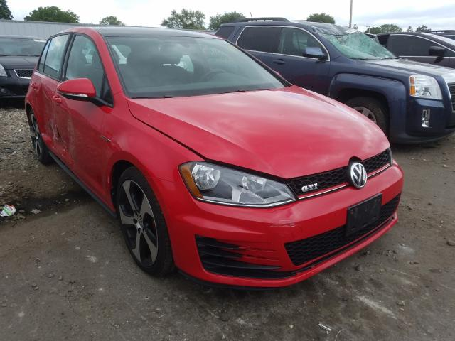 Salvage cars for sale from Copart Cudahy, WI: 2015 Volkswagen GTI