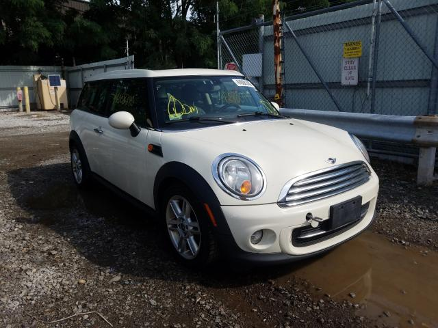 Salvage cars for sale from Copart North Billerica, MA: 2012 Mini Cooper CLU