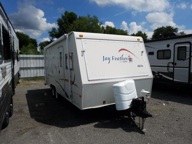 Jayco Jayfeather salvage cars for sale: 2005 Jayco Jayfeather