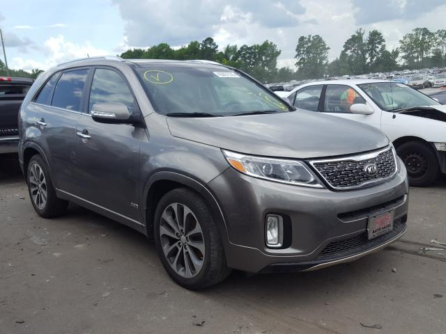 Salvage cars for sale from Copart Dunn, NC: 2014 KIA Sorento SX