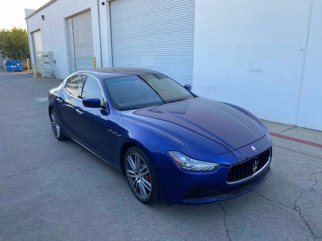 Maserati salvage cars for sale: 2016 Maserati Ghibli S