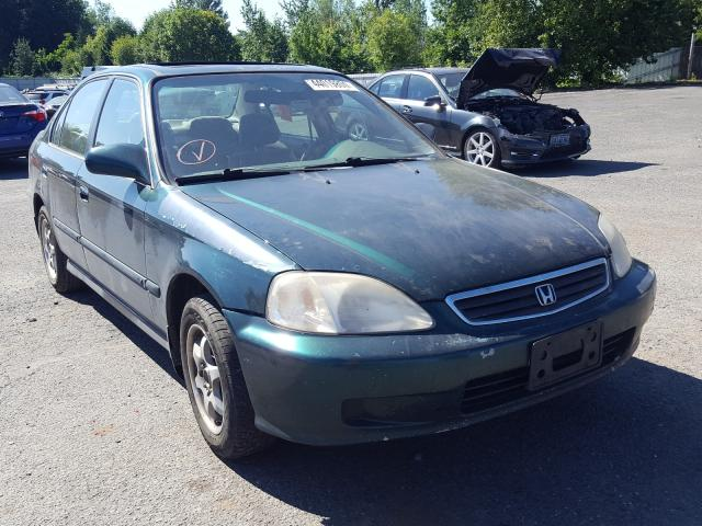 Honda salvage cars for sale: 1999 Honda Civic EX
