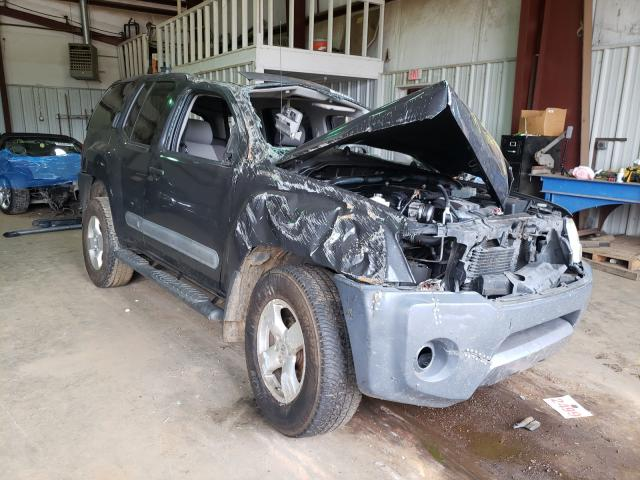 Salvage cars for sale from Copart Longview, TX: 2007 Nissan Xterra OFF