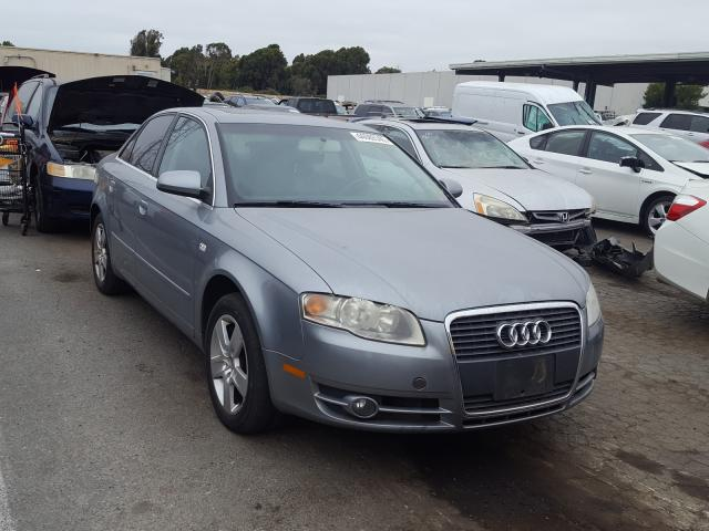Audi salvage cars for sale: 2006 Audi A4 2 Turbo