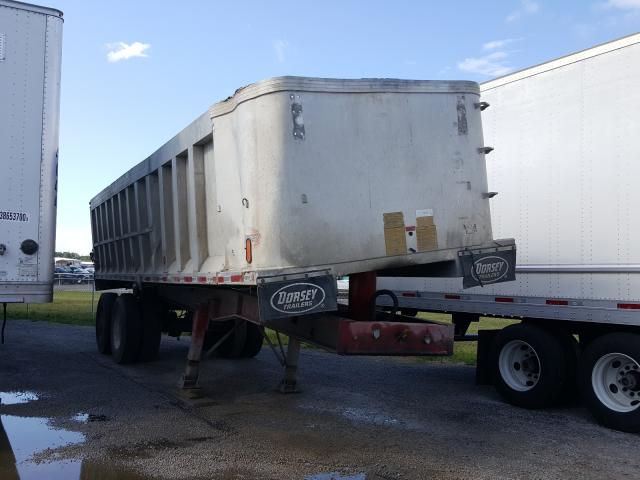 Dorsey Trailers salvage cars for sale: 1998 Dorsey Trailers Dump Trailer