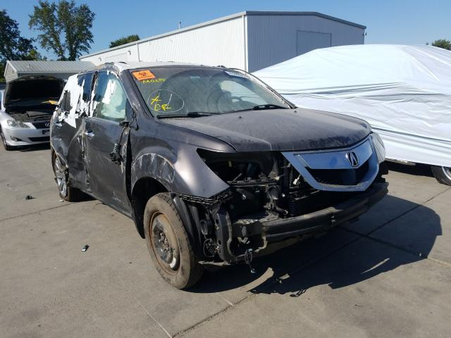 Acura MDX Advance salvage cars for sale: 2012 Acura MDX Advance