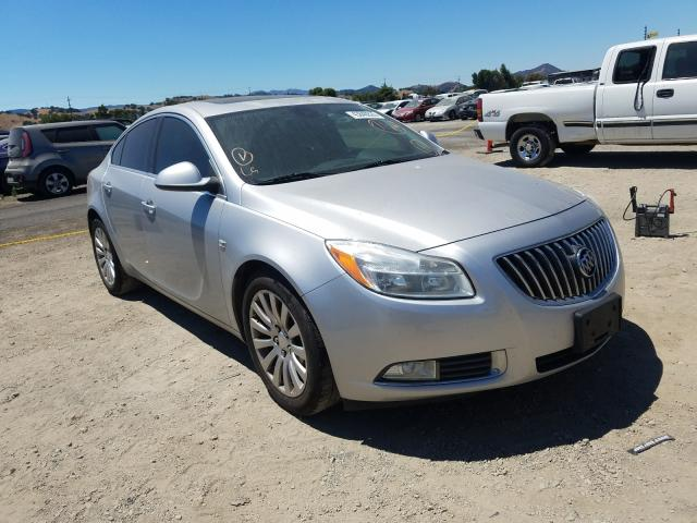 Salvage cars for sale from Copart San Martin, CA: 2011 Buick Regal CXL
