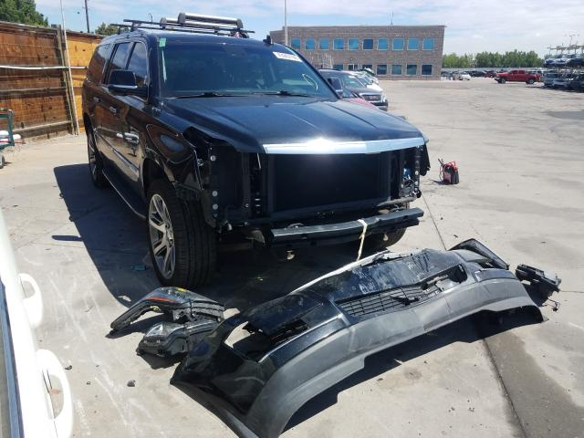 Vehiculos salvage en venta de Copart Littleton, CO: 2016 Cadillac Escalade E