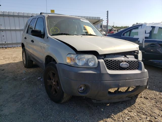 Ford Escape XLT salvage cars for sale: 2005 Ford Escape XLT