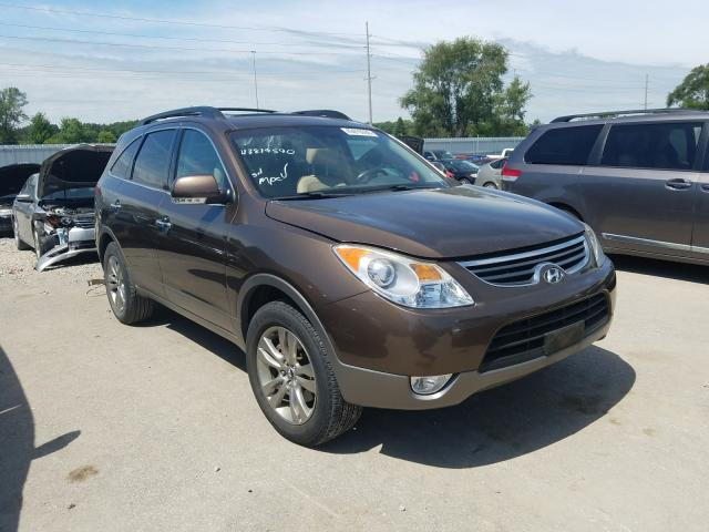 Hyundai Veracruz G salvage cars for sale: 2012 Hyundai Veracruz G