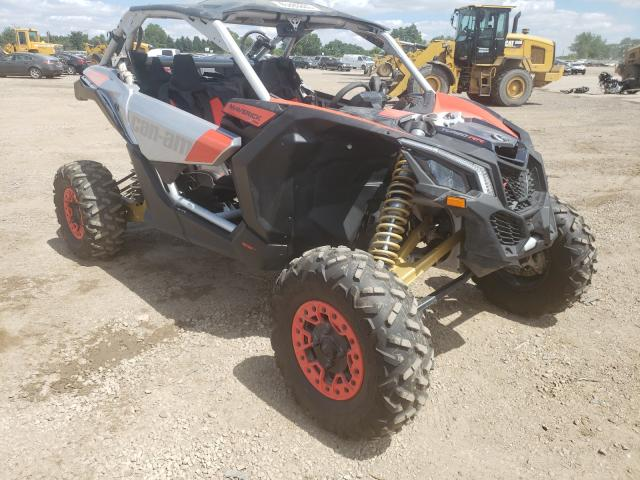 Salvage cars for sale from Copart Elgin, IL: 2020 Can-Am Maverick X