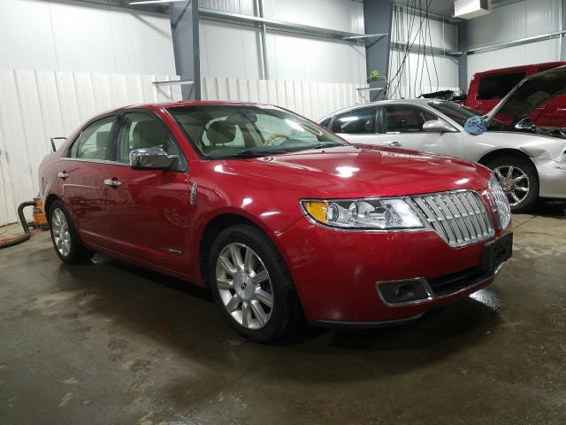 Lincoln MKZ Hybrid salvage cars for sale: 2012 Lincoln MKZ Hybrid