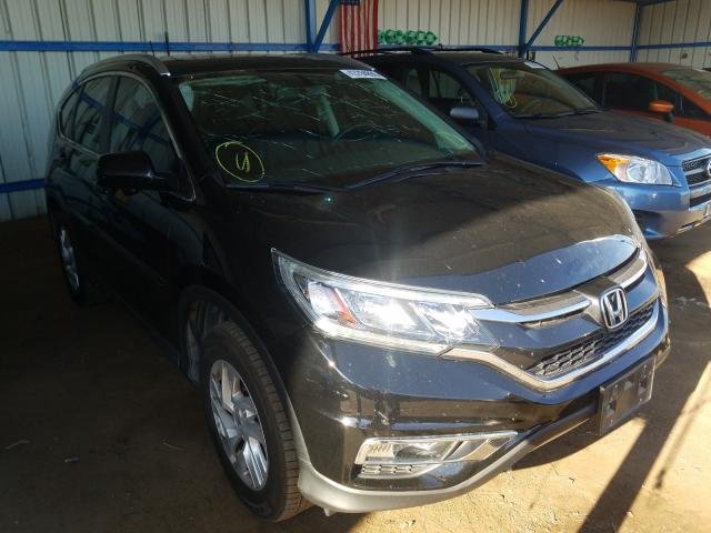 Honda CR-V EXL salvage cars for sale: 2015 Honda CR-V EXL